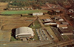 Winston-Salem War Memorial Coliseum And Home Of The Dixie Classic Fair