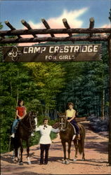 Entrance Camp Crestridge For Girls, Ridgecrest Baptist Assembly