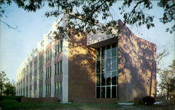 Minges Science Building, Campus of Lenoir Rhyne College