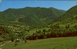 Beautiful Maggie Valley As Seen From U. S. 19 Postcard
