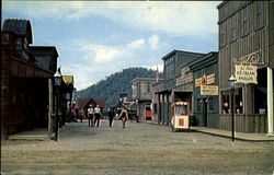 Street Scene In Ghost Town, Ghost Mountain Park