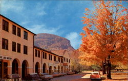 Autumn Scene Showing Administration Building