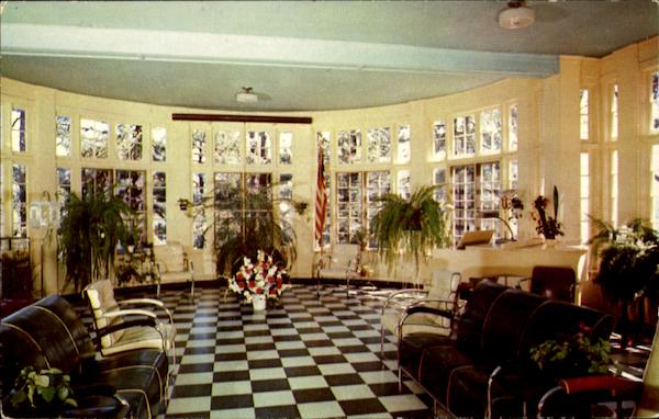 Solarium In The Infirmary Building Oriskany New York