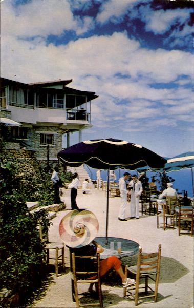 Le Perchoir's Terrace On Boutillier Mountain Haiti