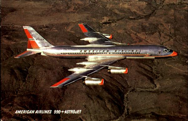 The 990 Astrojet Aircraft