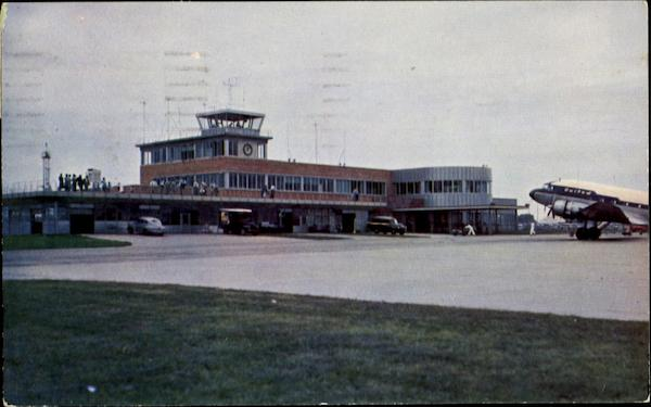 New Municipal Airport Building Des Moines Iowa Airports