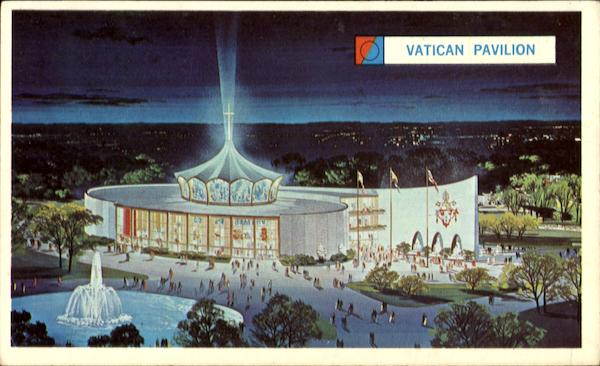 The vatican pavilion 1964 ny worlds fair for Pavilion cost per square foot