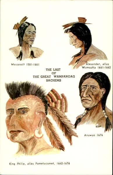 The Last Of The Great Wampanoag Sachems Native Americana