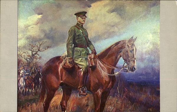 Equestrian Portrait Of General Of The Armies John J. Pershing