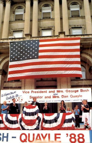 A Hometown Salute To Senator Dan F. Quayle Presidents