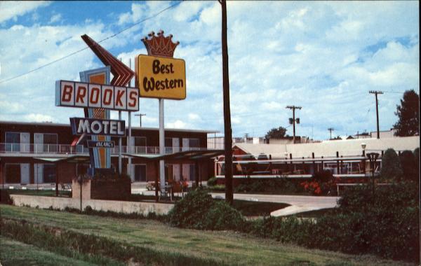 Brooks Motel Intersection U S 36 283 383 Norton Ks