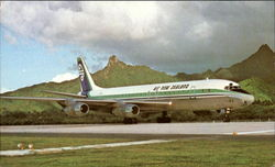 Air New Zealands Dc-8