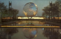Unisphere Night Scene