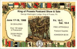 King Of Prussia Postcard Show & Sale