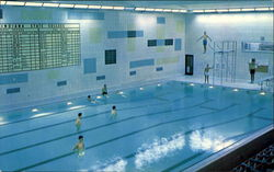 Arena Swimming Pool, Indiana State College