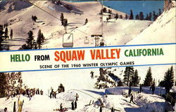 Hello From Squaw Valley