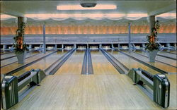 Johnson's Bowling Academy, 2100 Dixwell Avenue Postcard