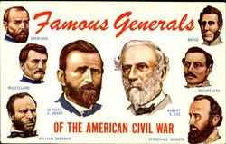 Famous Generals Of The American Civil War