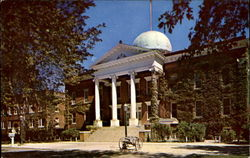 Missouri Military Academy Administration Building Postcard