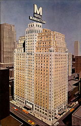 Hotel Manhattan, 44th to 45th Streets at 8th Avenue
