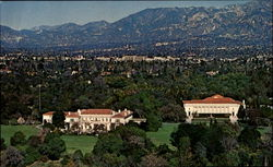 Aerial View Henry E. Huntington Library And Art Gallery