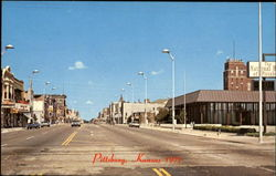Broadway In Pittsburg Postcard