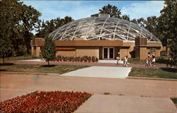 Topeka Zoological Park, 635 Gage Blvd. Postcard