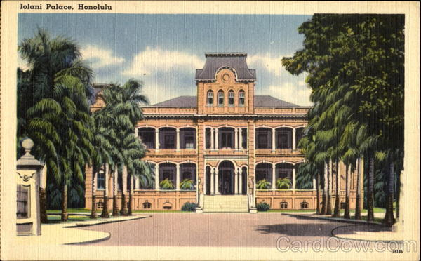 Iolani Palace Honolulu Hawaii