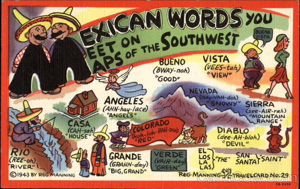 Mexican Words Mexico