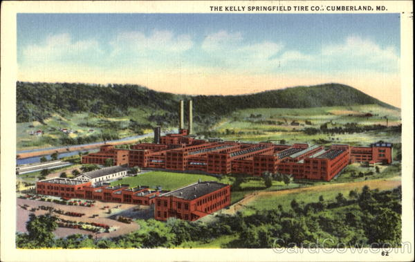 The Kelly Springfield Tire Co. Cumberland Maryland