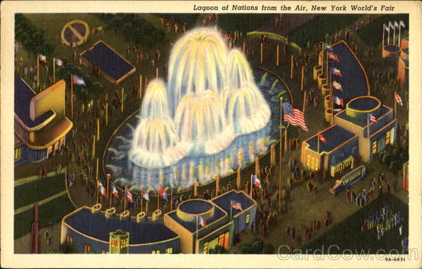 Lagoon Of Nations 1939 NY World's Fair