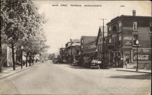 Main Street Franklin Massachusetts