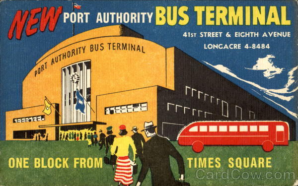 Port Authority Bus Terminal, Eighth Avenue at Forty-first Street New York City