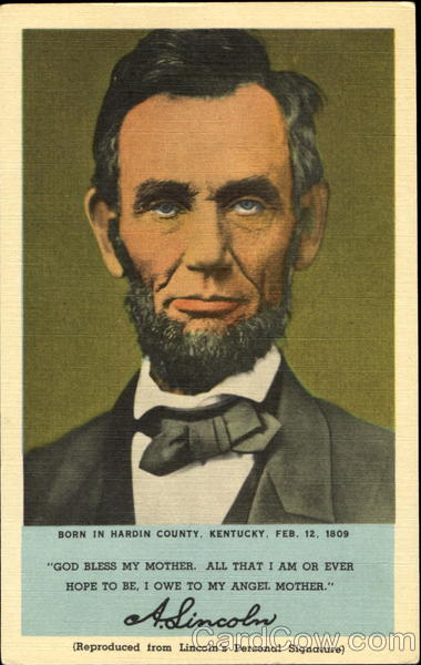A. Lincoln Kentucky Presidents