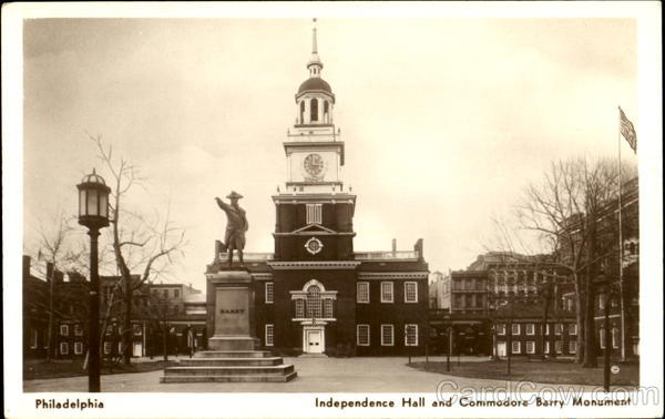 National Museum Independence Hall Group, Chestnut Street between 5th and 6th Streets Philadelphia Pennsylvania