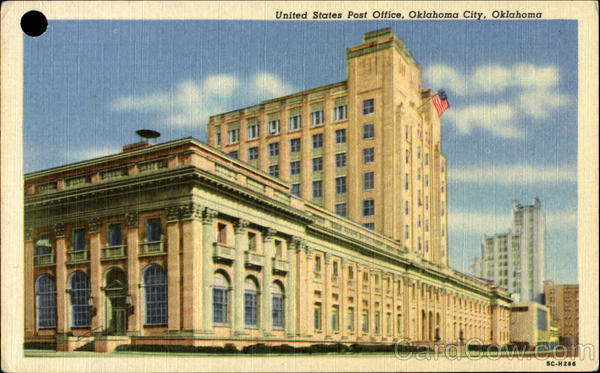 Oklahoma City United States  city photo : United States Post Office Oklahoma City, OK