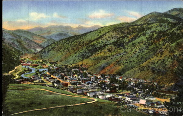 Idaho Springs, U. s. 40 Clear Creek Canon Colorado