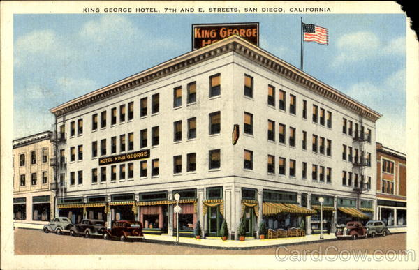 King George Hotel, 7th And E. Streets San Diego California