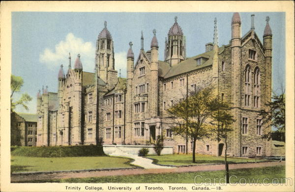 Trinity College, University of Toronto Ontario Canada
