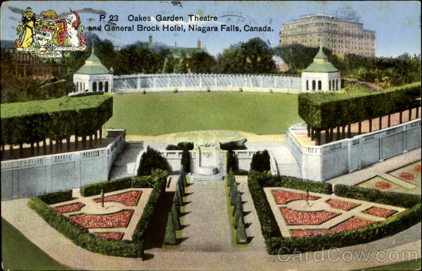 Oaks Garden Theatre And General Brock Hotel Niagara Falls Ontario Canada