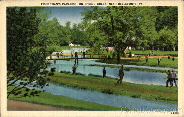 Fisherman 39 s paradise on spring creek bellefonte pa for Spring creek pa fishing report