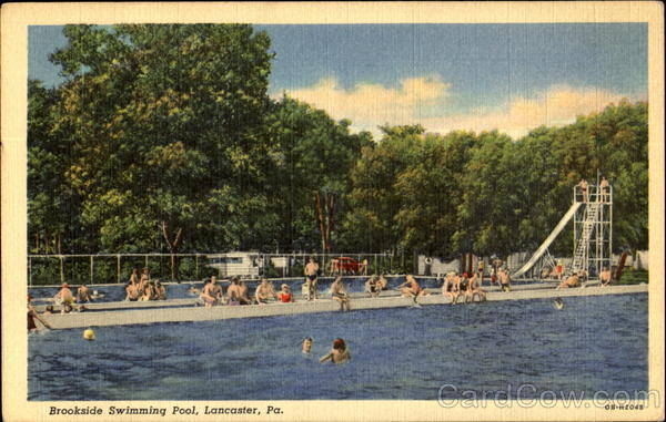 Brookside Swimming Pool Lancaster Pennsylvania