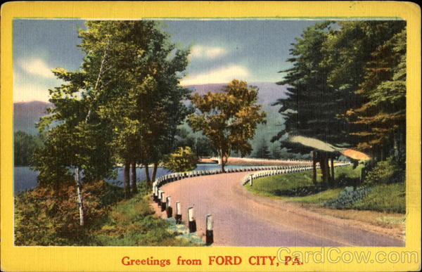 Greetings From Ford City Pennsylvania