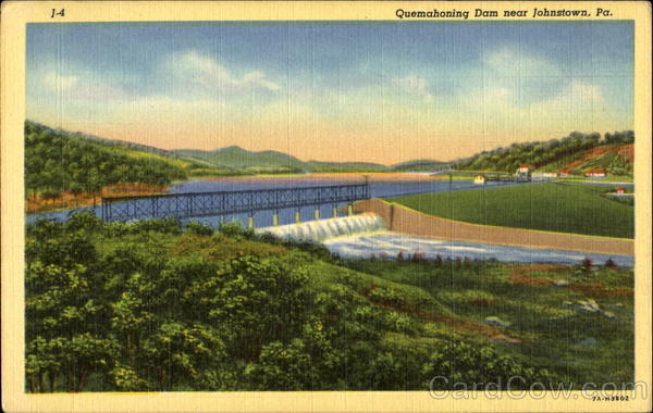 Quemahoning Dam Johnstown Pennsylvania