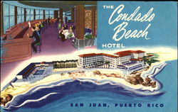 The Condado Beach Hotel Postcard