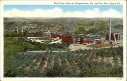 Bird's-Eye View Of Waynesboro Va. And Du Pont Rayon Co.