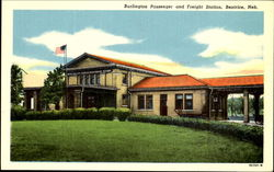 Burlington Passenger And Freight Station