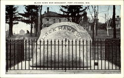 Black Hawk War Monument