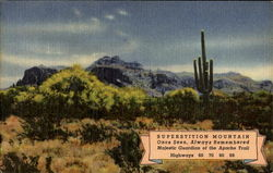 Superstition Mountain, Highways 60, 70, 80, 89