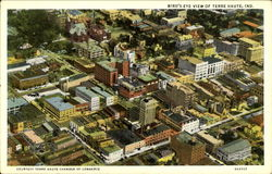 Bird's Eye View Of Terre Haute